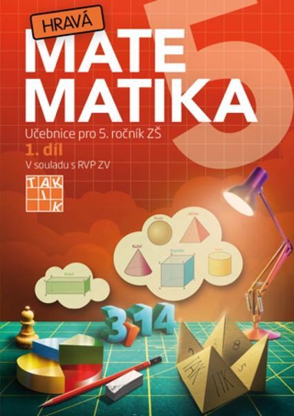 Hravá matematika 5.r. 1.díl (učebnice)