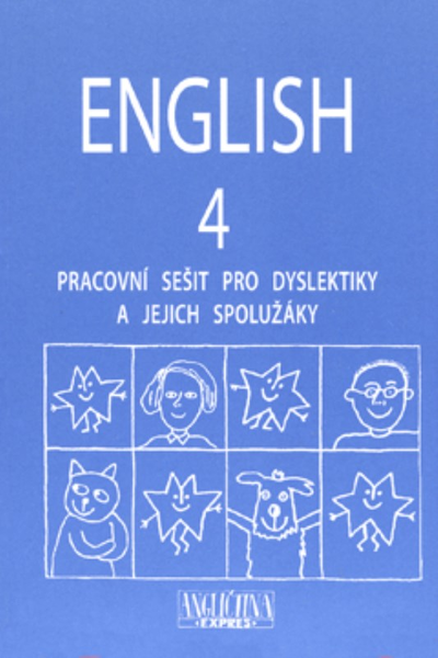 English 4 - pracovní sešit pro dyslektiky a jejich spolužáky + audio CD