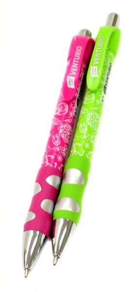 Kuličkové pero Venturio - zelené