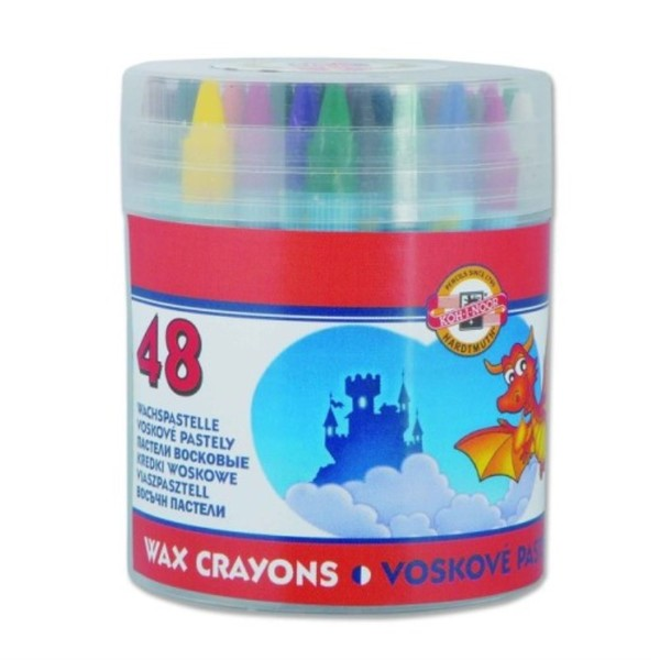 Voskové pastelky 48