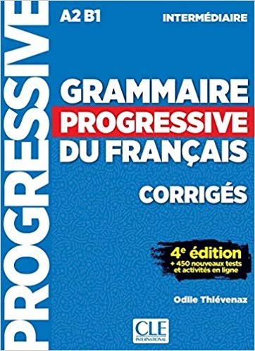 Grammaire Progressive du Francais - Niveau intermédiaire - Corrigés (klíč)