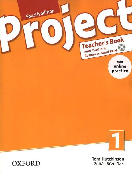 Project 1 Fourth Edition - Teacher´s Book with Online Practice (čtvrté vydání)