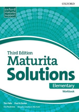 Maturita Solutions 3rd Edition Elementary Workbook (Czech Edition)
