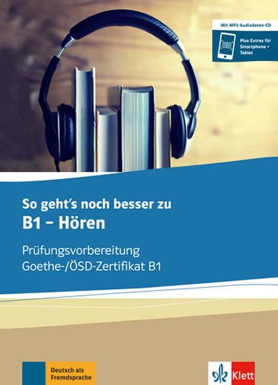 So geht´s noch besser zu B1 - Hören - Buch + CD MP3
