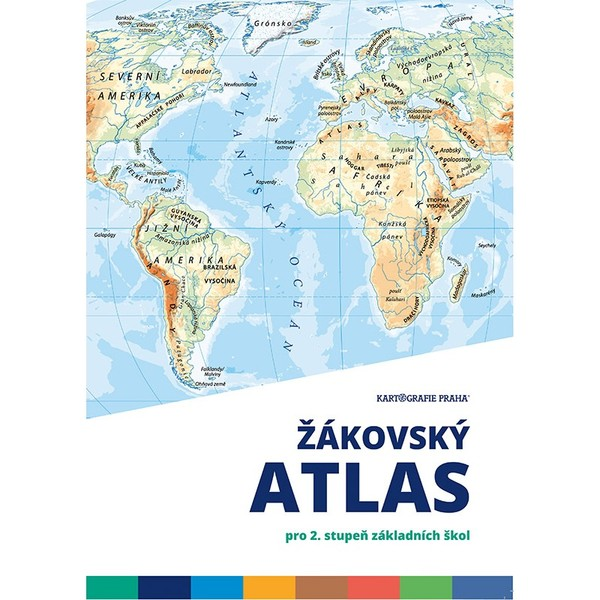 Žákovský atlas pro 2.stupeň základních škol