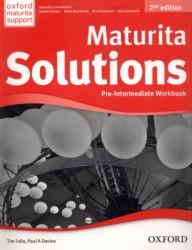 Maturita Solutions 2nd Edition Pre-intermediate Workbook (pracovní sešit)