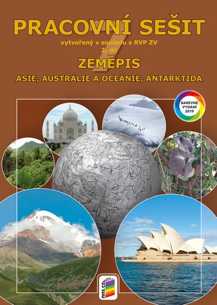 Zeměpis 7.r. 2.díl Pracovní sešit barevný (Asie, Austrálie a Oceánie, Antarktida )