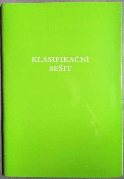Klasifikační sešit