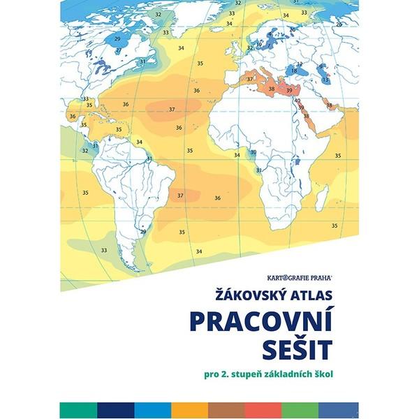 Žákovský atlas - Pracovní sešit pro 2.stupeň základních škol