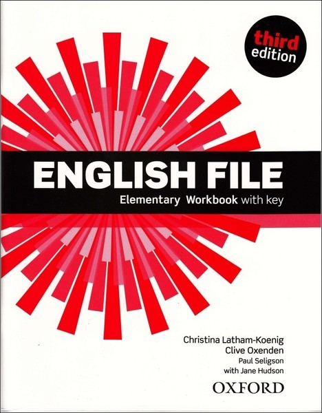 English File Third Edition Elementary Workbook vith key