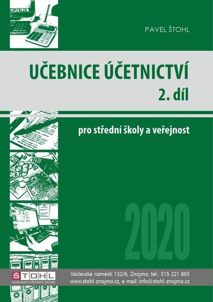 Učebnice Účetnictví pro SŠ a veřejnost 2020 - 2. díl