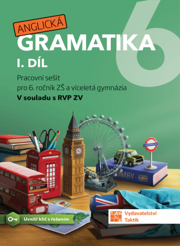 Anglická gramatika 6 - 1.díl