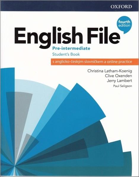 English File Fourth Edition Pre-intermediate Students Book