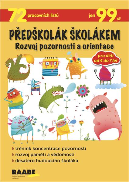 Předškolák školákem - Rozvoj pozornosti a orientace