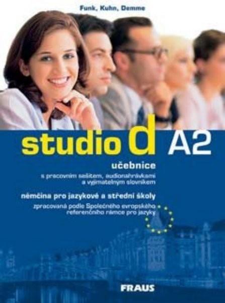 Studio d A2 němčina pro JŠ a SŠ - učebnice + CD