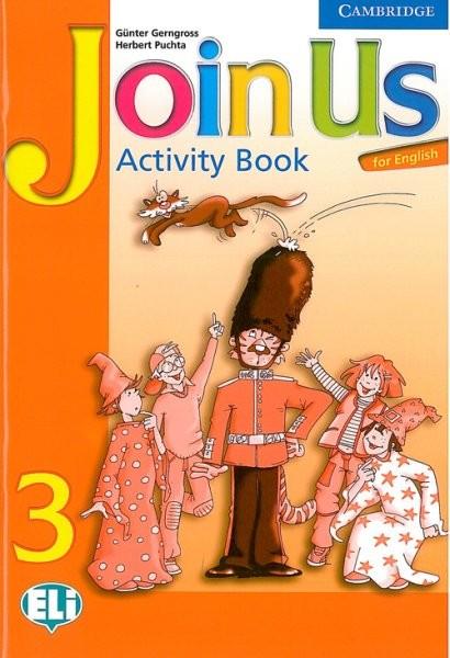 Join Us for English 3 Activity Book (pracovní sešit)