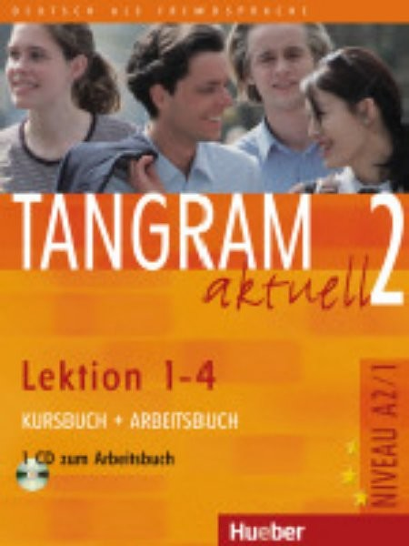 Tangram aktuell 2 (Lektion 1-4) Kursbuch + Arbeitsbuch + CD