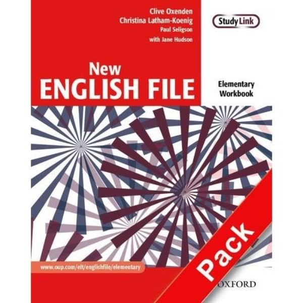 New English File Elementary - Workbook with key + CD-ROM (pracovní sešit s klíčem)