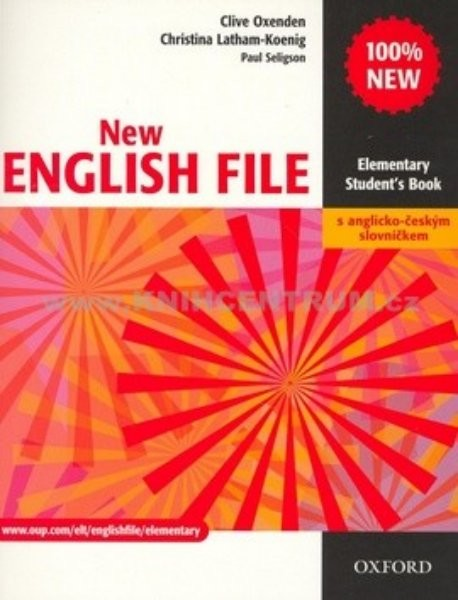 New English File Elementary - Student´s book + slovníček (učebnice)