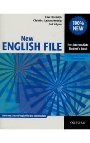 New English File Pre-Intermediate - Student´s book + anglicko-český slovníček