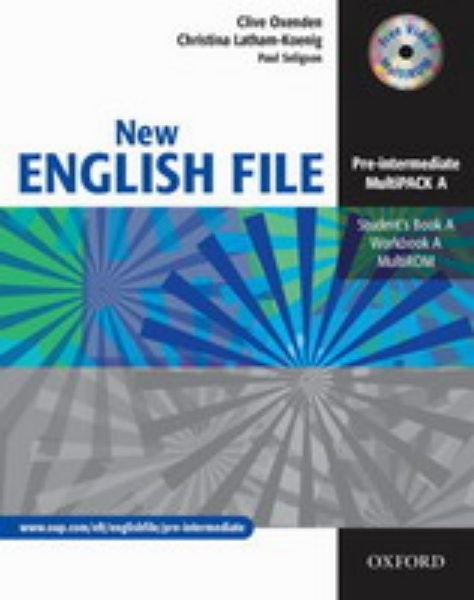 New English File Pre-Intermediate - Multipack A + CD-ROM