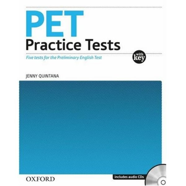 PET Practice Tests with Key and audio CD Pack