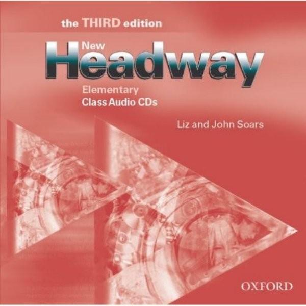 New Headway Elementary 3.vyd. Class Audio CDs (audio CD k učebnici)