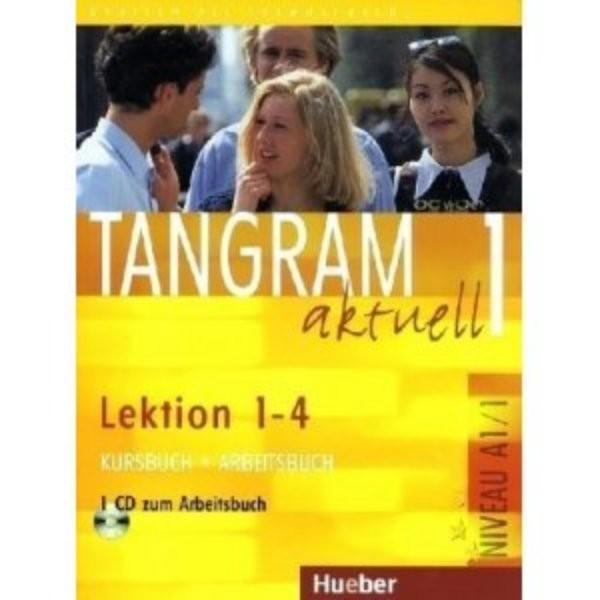 Tangram aktuell 1 (Lektion 1-4) Kursbuch + Arbeitsbuch + CD