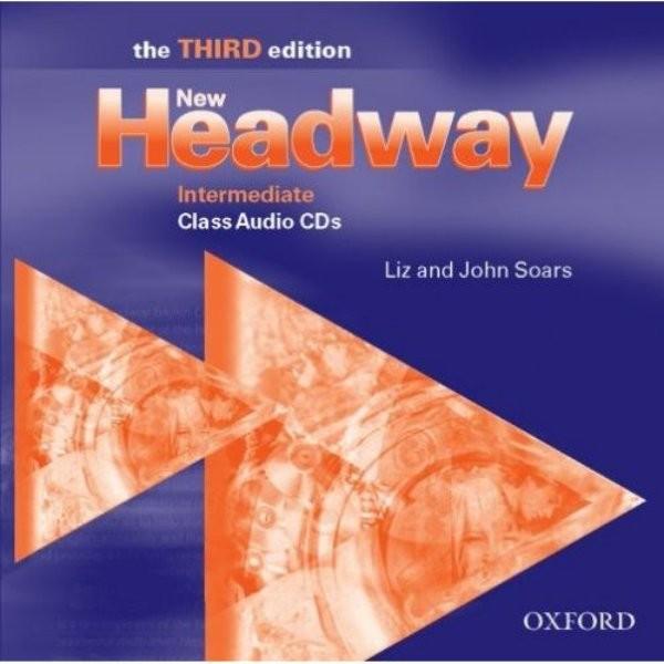New Headway Intermediate 3.vyd. Class Audio CDs (audio CD k učebnici)