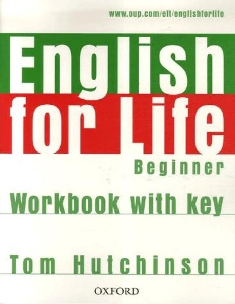 English for Life Beginner Workbook with key (pracovní sešit s klíčem)