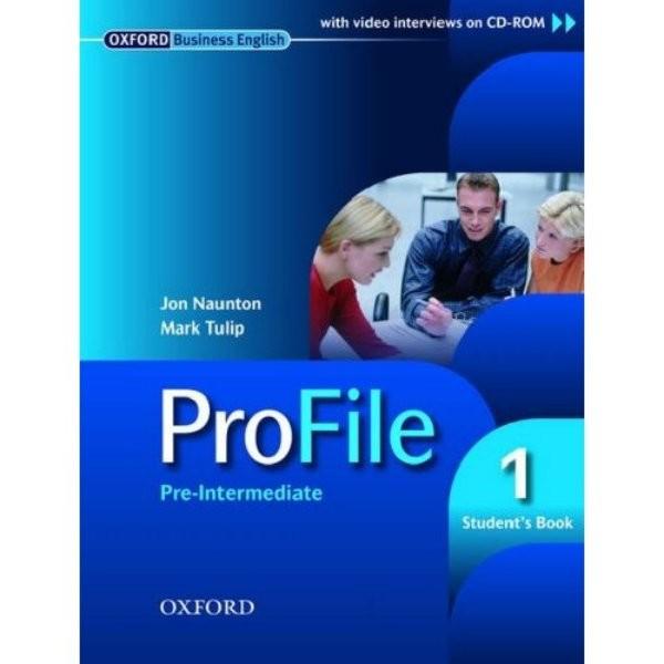 ProFile 1 Pre-intermediate Students Book with CD-ROM (učebnice)