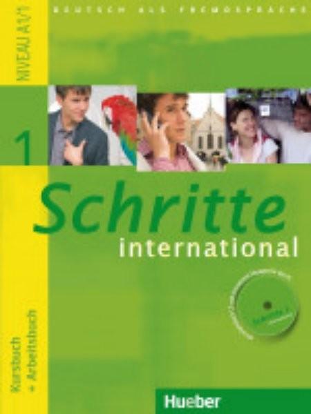 Schritte international 1 Paket - Kursbuch + Arbeitsbuch + CD + Glossar