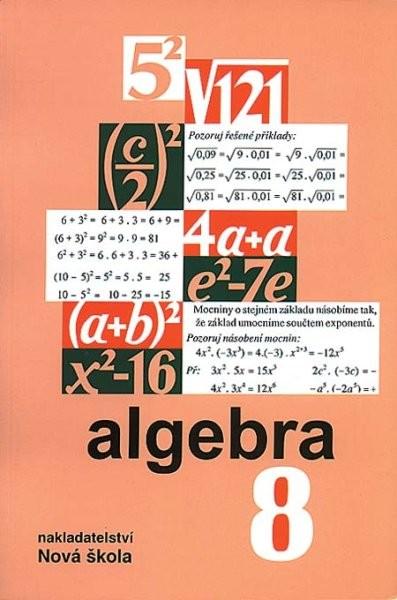 Algebra 8.r. - učebnice