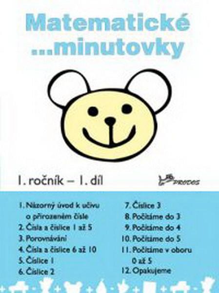 Matematické minutovky 1.r. - 1.díl