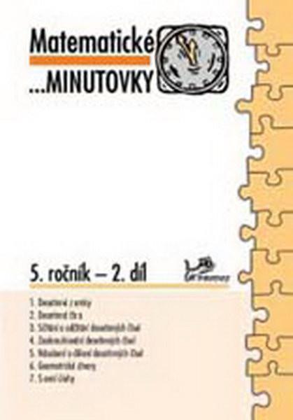 Matematické minutovky 5.r. - 2.díl
