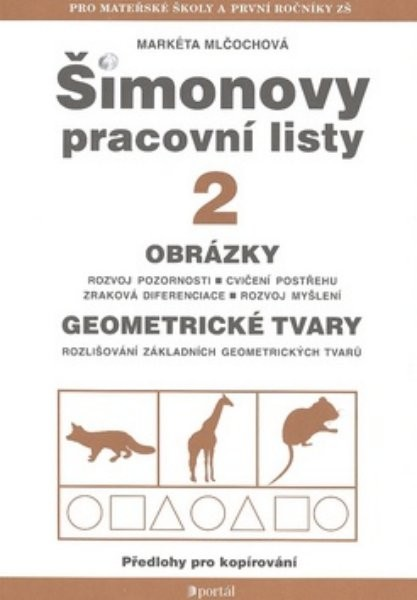 Šimonovy pracovní listy 2 - Obrázky, geometrické tvary