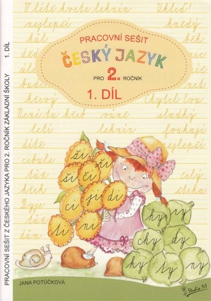 Český jazyk 2.ročník ZŠ - pracovní sešit 1.díl