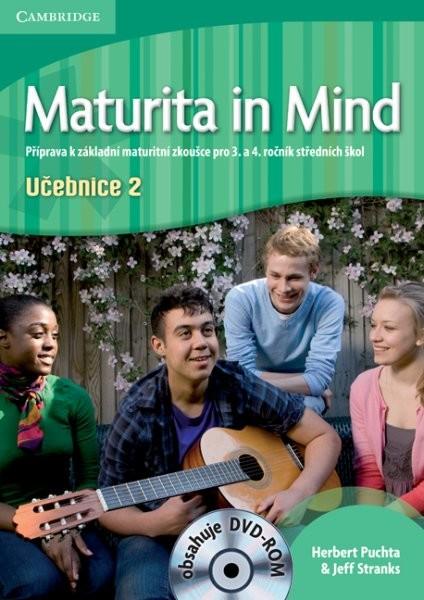 Maturita in Mind 2 - Učebnice + DVD-ROM