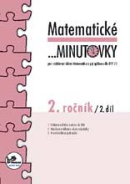 Matematické minutovky 2.r. - 2.díl