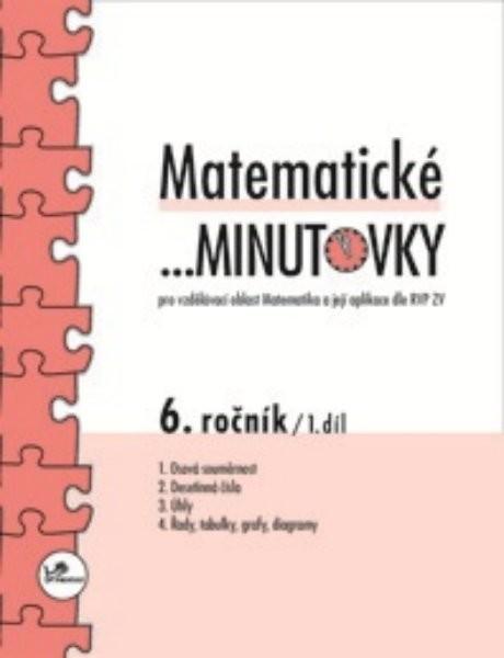 Matematické minutovky 6.r. - 1.díl