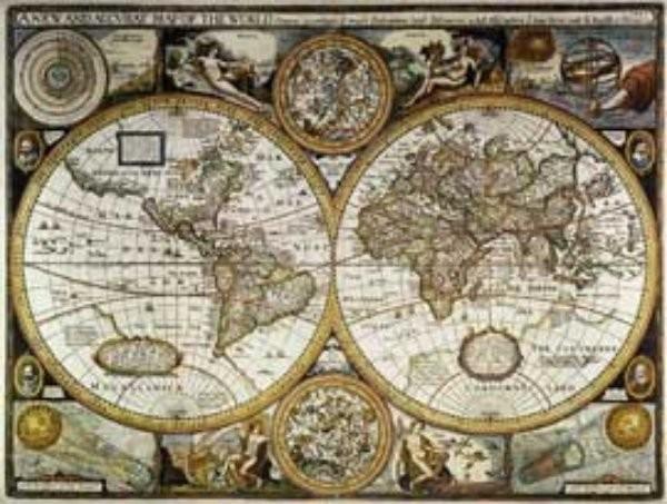 Antický svět - nástěnná mapa (90 x 70 cm)