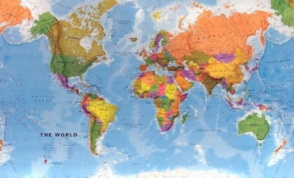 Svět politický - nástěnná mapa (136 x 100 cm)