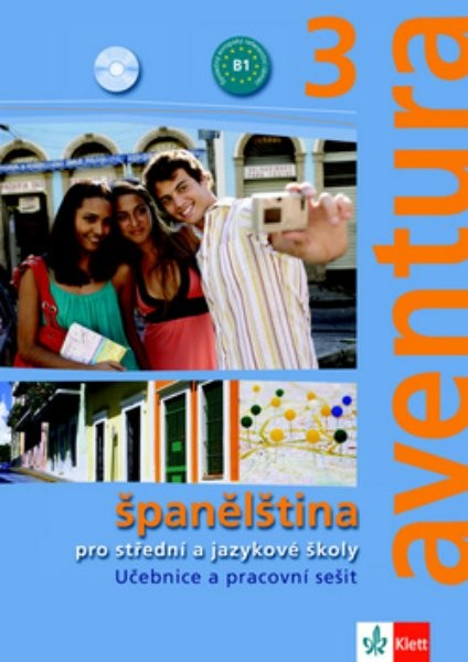 Aventura 3 - Učebnice a pracovní sešit + 2 audio CD