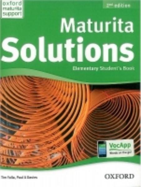 Maturita Solutions 2nd Edition Elementary Students Book (učebnice)