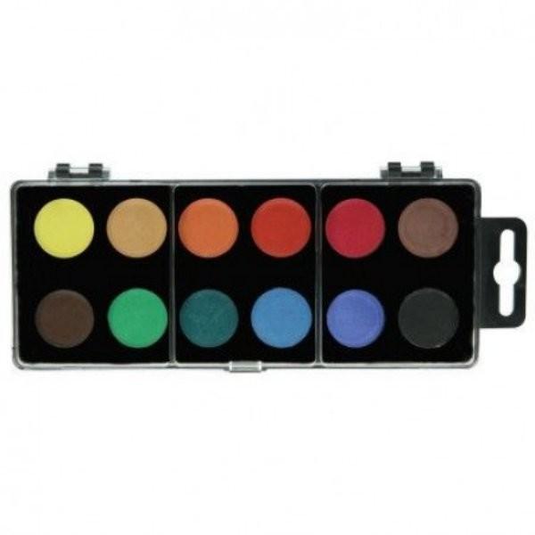 Barvy vodové velké 12 (30 mm)
