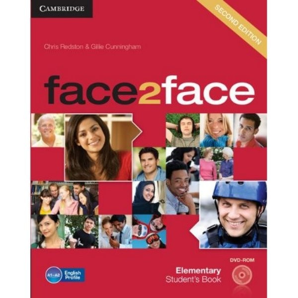 Face2face 2nd edition Elementary Student´s Book with DVD-ROM (učebnice)