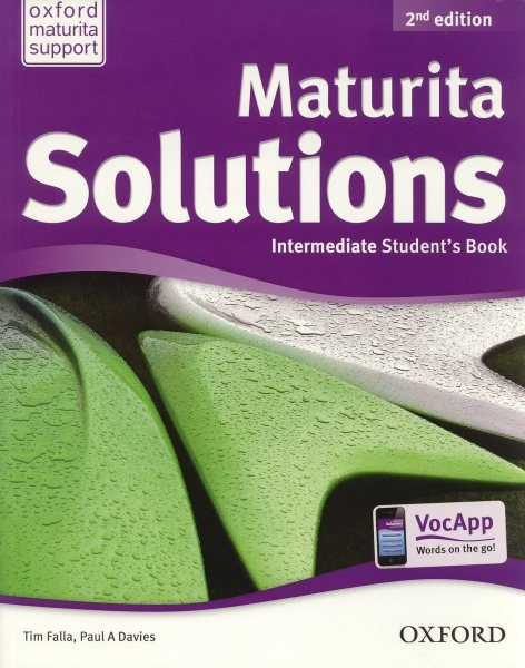 Maturita Solutions 2nd Edition Intermediate Students Book (učebnice)