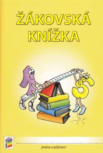 Žákovská knížka pro 3. až 9.ročník - členění stran dle předmětů (oranžová)