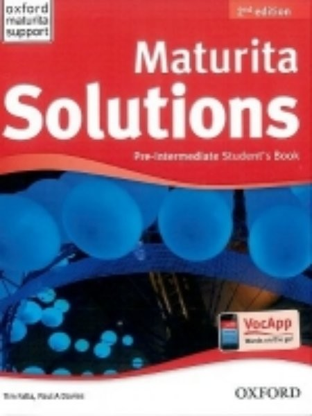 Maturita Solutions 2nd Edition Pre-intermediate Students Book (učebnice)