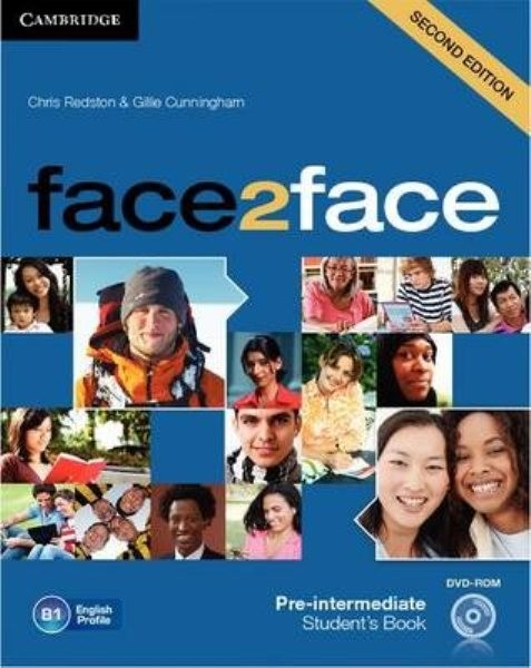 Face2face 2nd edition Pre-intermediate Student´s Book with DVD-ROM (učebnice)